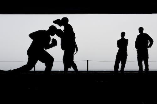 Δωρεάν στοκ φωτογραφιών με άθλημα, Άνθρωποι, ασπρόμαυρο, κόσμος