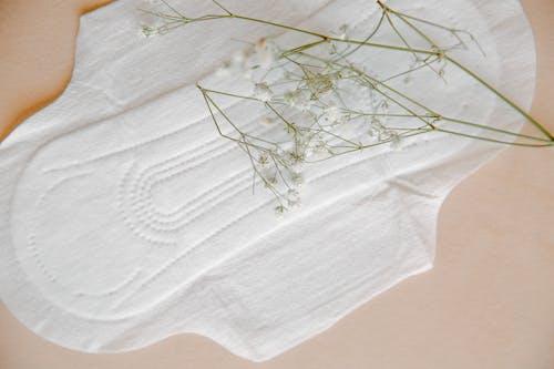 Close Up of Sanitary Pad
