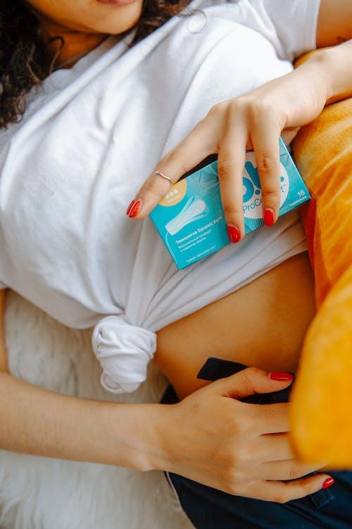 Immagine gratuita di ciclo mestruale, donna, femmina