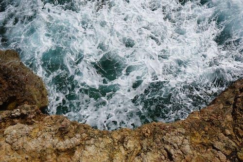 Gratis arkivbilde med bølger, drone, dronebilde, flyfoto