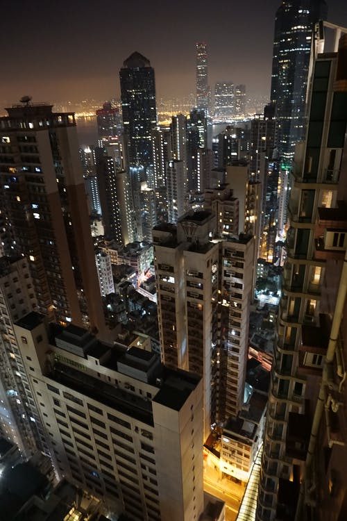 Gratis stockfoto met architectuur, avond, binnenstad, china