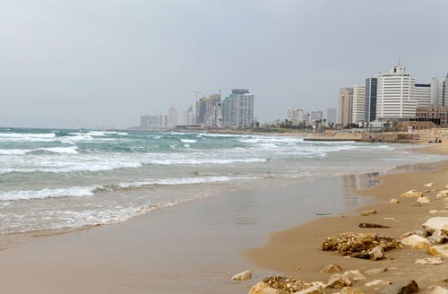 Free stock photo of beach, Israel, jaffa, Middle east