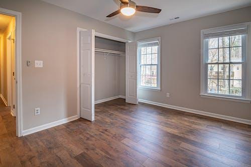 White Wooden Door Closet