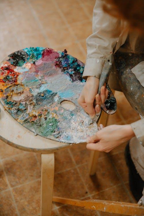 Ingyenes stockfotó beltéri, fedett, festék, festés témában