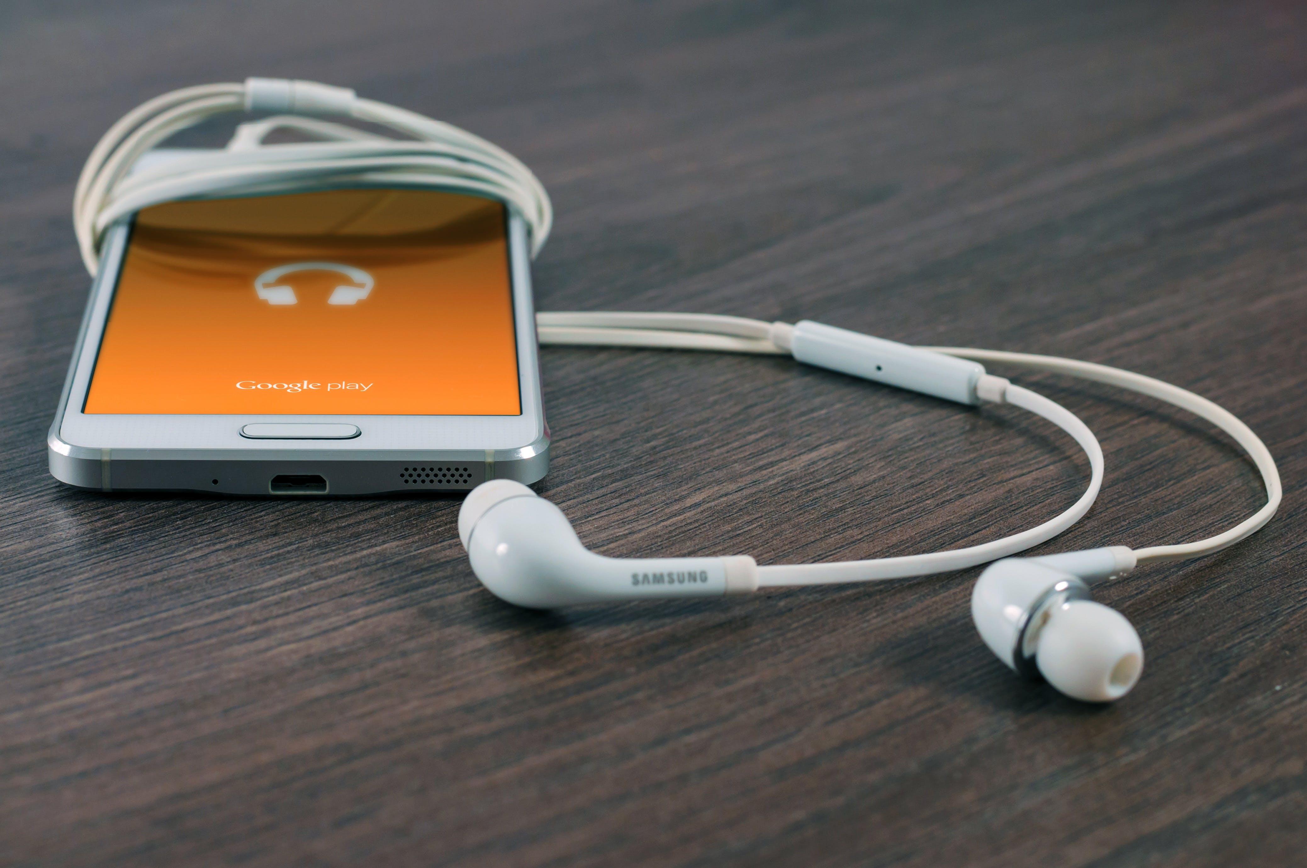 app, earbuds, earphones