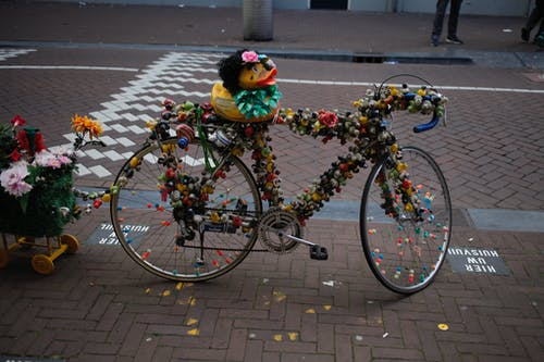 Foto profissional grátis de Amsterdã, Amsterdam, bicicleta, brinquedos