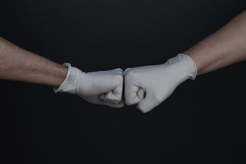 คลังภาพถ่ายฟรี ของ coronavirus, การปกป้อง, ถุงมือ