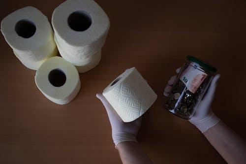 Free stock photo of corona, coronavirus, gloves, hands