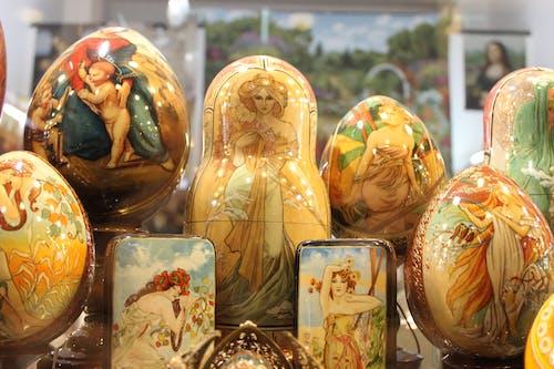 俄罗斯套娃, 俄罗斯娃娃, 工藝品 的 免费素材照片