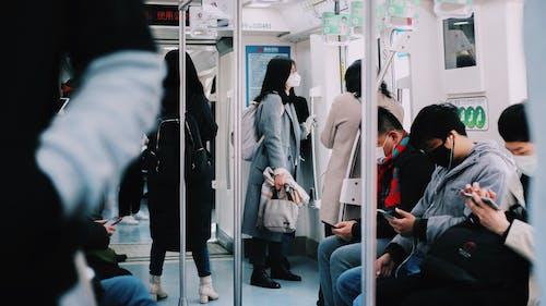 Immagine gratuita di covid-19, covid19, fare il pendolare, locomotiva