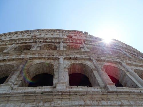 Foto profissional grátis de anfiteatro, anfiteatro flaviano, Roma