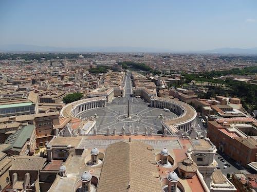 Immagine gratuita di piazza san pietro, roma, vaticano