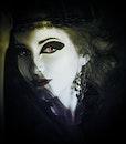 person, woman, dark