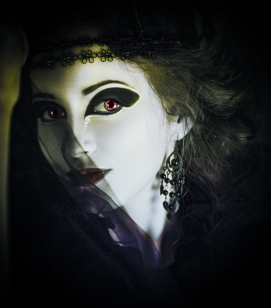 costume, dark, fantasy