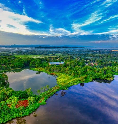 Darmowe zdjęcie z galerii z dron, indonezja, jezioro, lotniczy