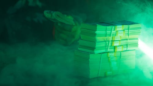 Free stock photo of currency, money, neon