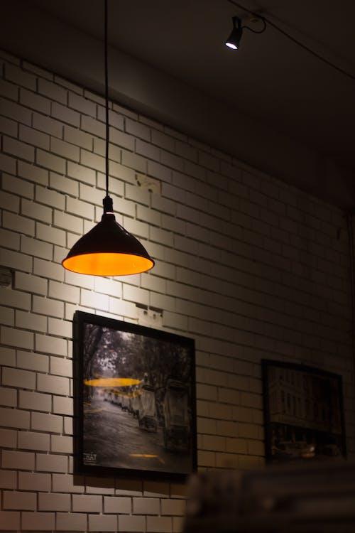 Gratis lagerfoto af årgang, kaffe, lys, nat