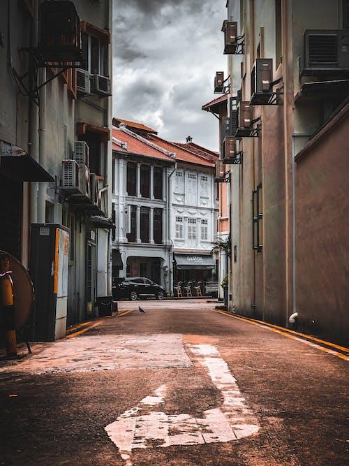 Foto profissional grátis de alameda, beco, Cingapura