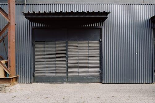 倉庫, 入口, 建造, 快門 的 免费素材照片
