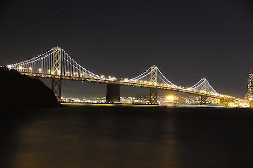 Free stock photo of bay area, bay bridge, long exposure