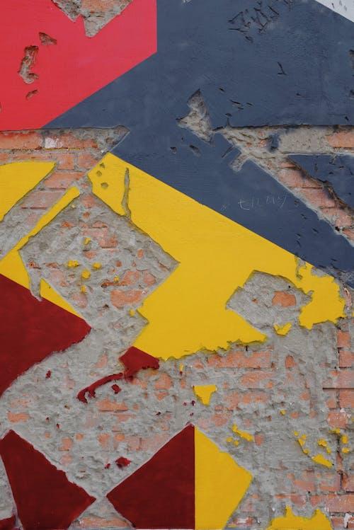 Kostenloses Stock Foto zu außen, beton, betonmauer, blau