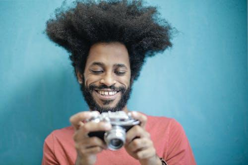 Ảnh lưu trữ miễn phí về anh chàng da đen, cận cảnh, Đàn ông, kiểu tóc afro