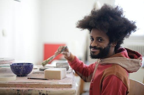 Бесплатное стоковое фото с артист, аудитория, Афро, афро волосы