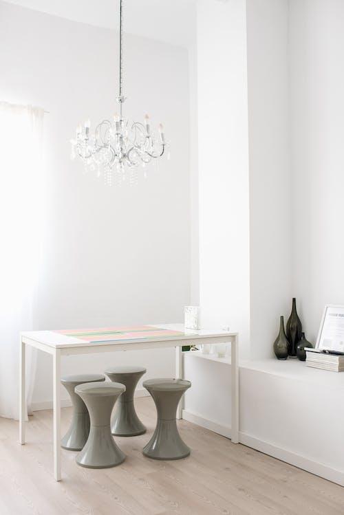 Interior of stylish room in creative minimal modern design