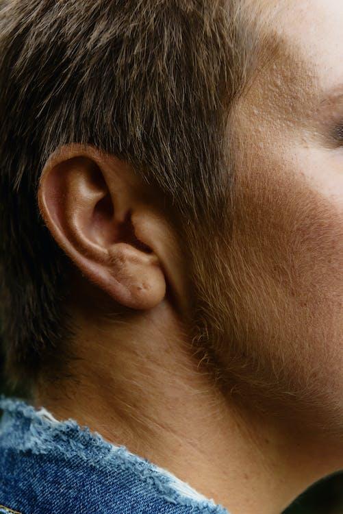 Person's Right Ear