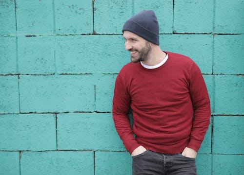 Imagine de stoc gratuită din aplecare, arătos, barbă, bărbat