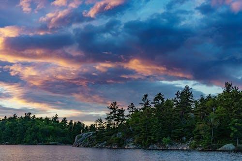 反射, 夏天, 天性, 天空 的 免费素材照片