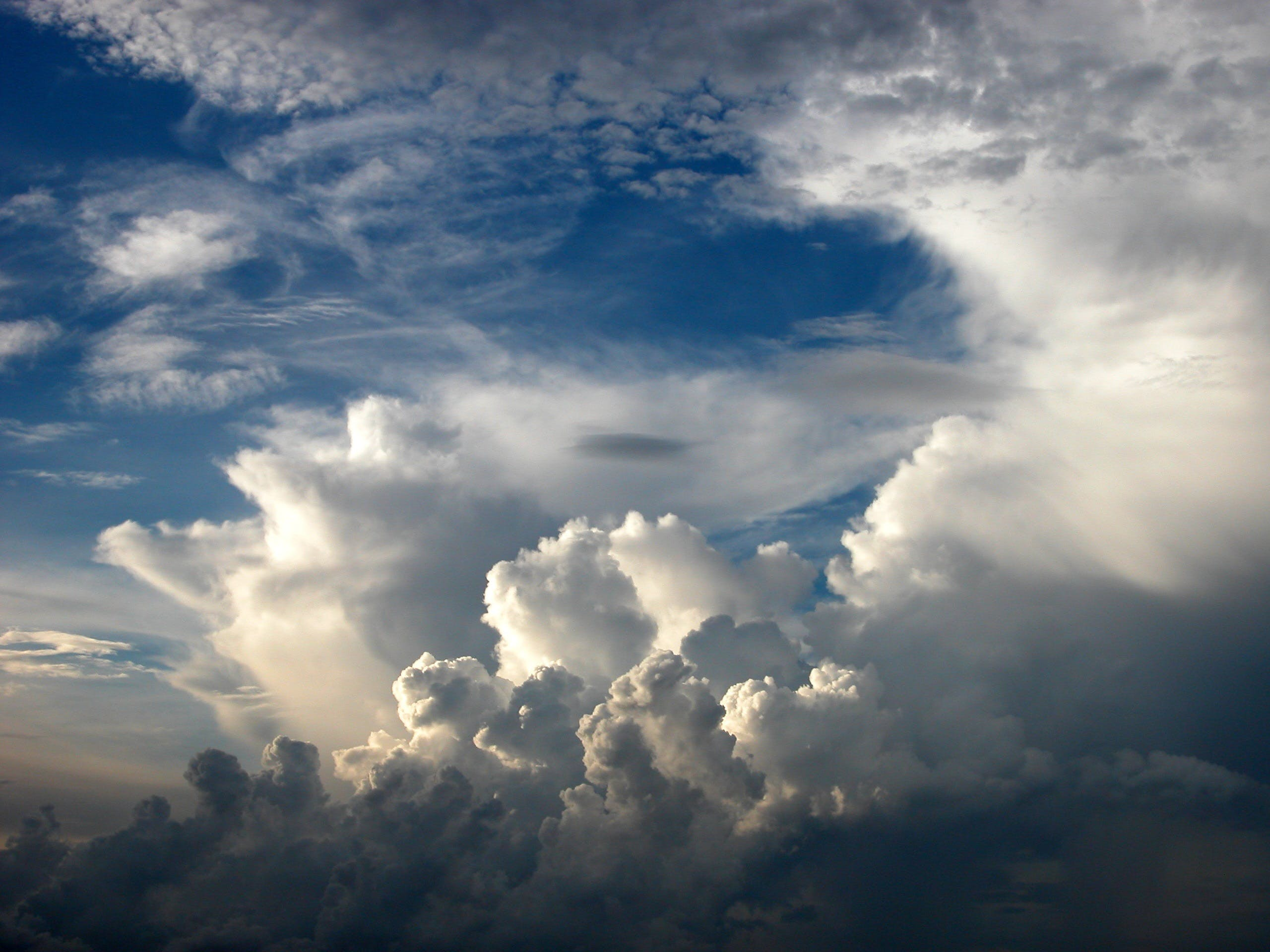 Free stock photo of sky, clouds, weather, blue