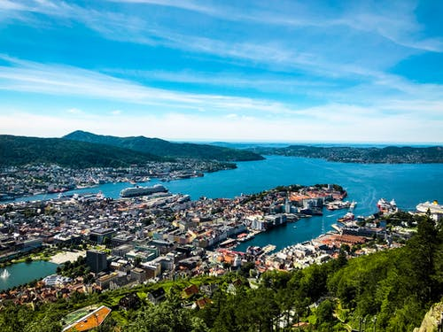 Δωρεάν στοκ φωτογραφιών με bergen, ακτή, αρχιτεκτονική, γραφικός