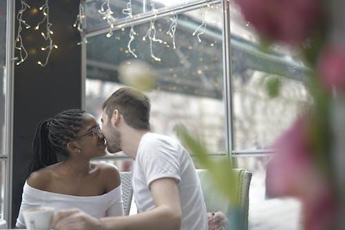 관계, 남자, 낭만적인, 다민족 커플의 무료 스톡 사진