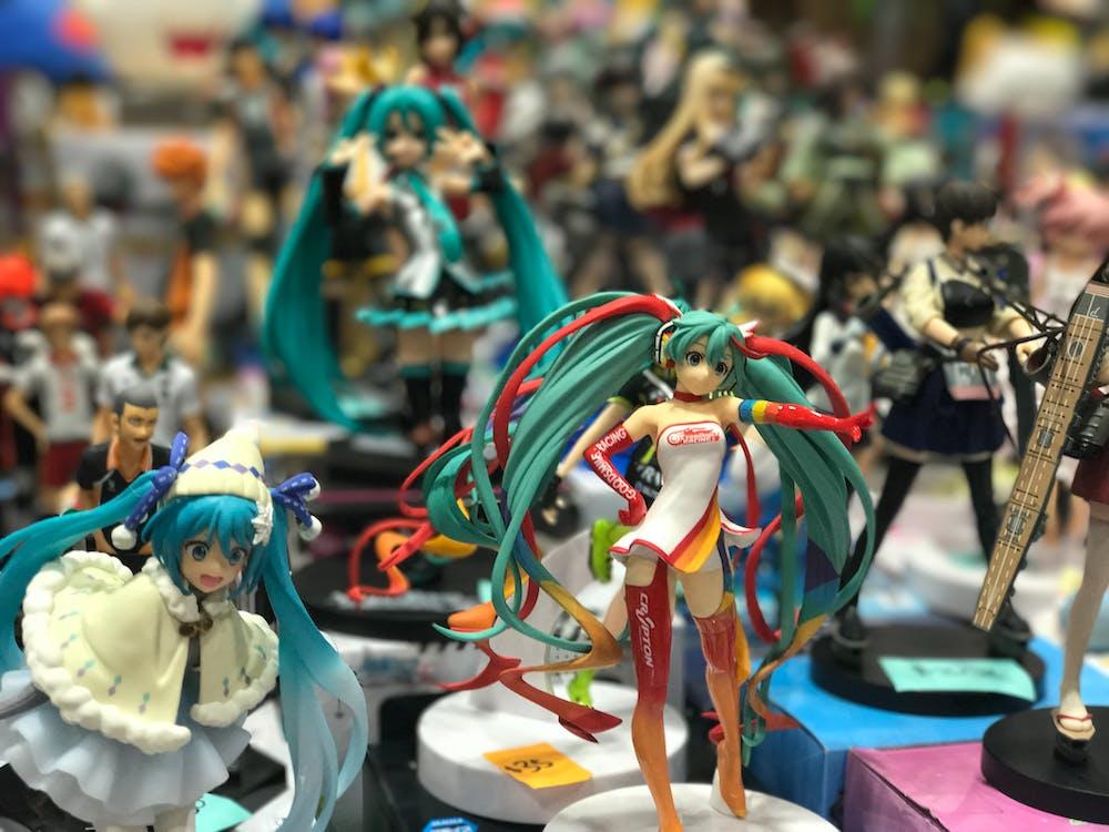 Free stock photo of japanese, toys