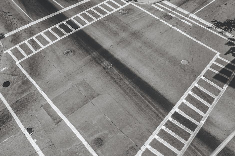 crossing, crossroad, street