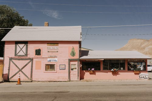 Photo Of A Pink Store