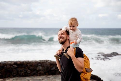 Photos gratuites de adorable, amour, amusement, bord de mer