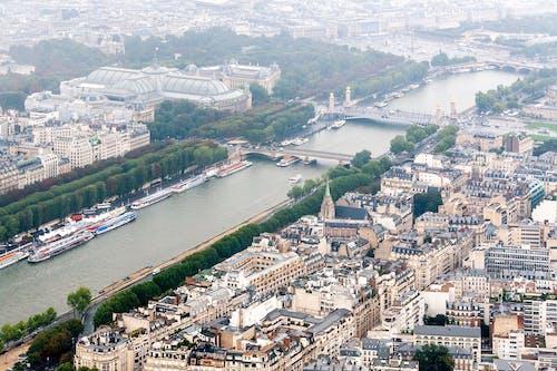 Foto profissional grátis de aéreo, arquitetura, capital, cidade