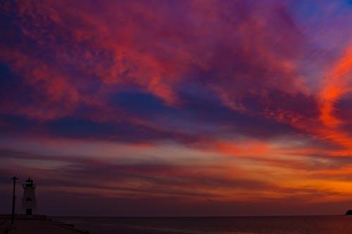 天空, 日落, 景觀, 雲 的 免费素材照片
