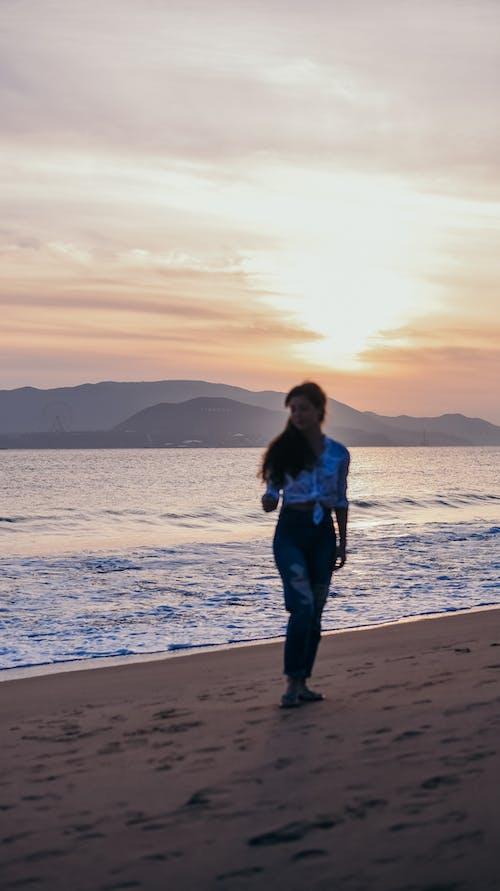 레저, 레크리에이션, 바다, 새벽의 무료 스톡 사진