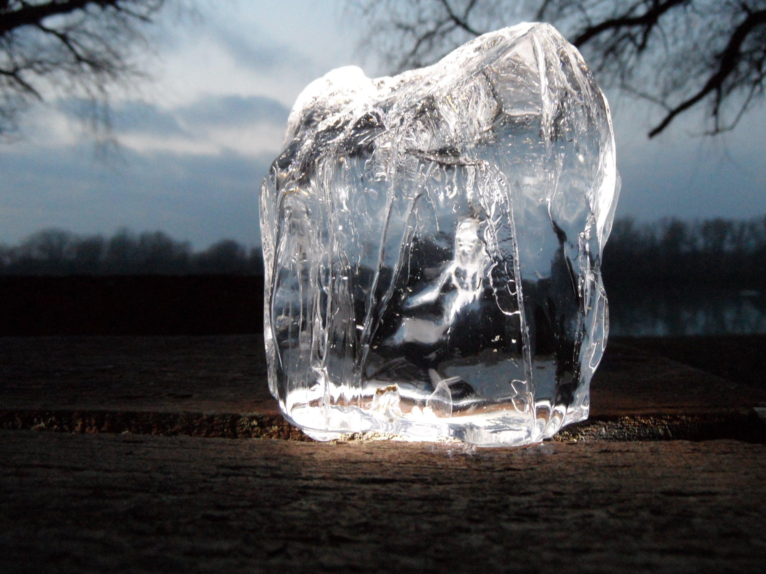 Free stock photo of winter, ice, macro, légtömb
