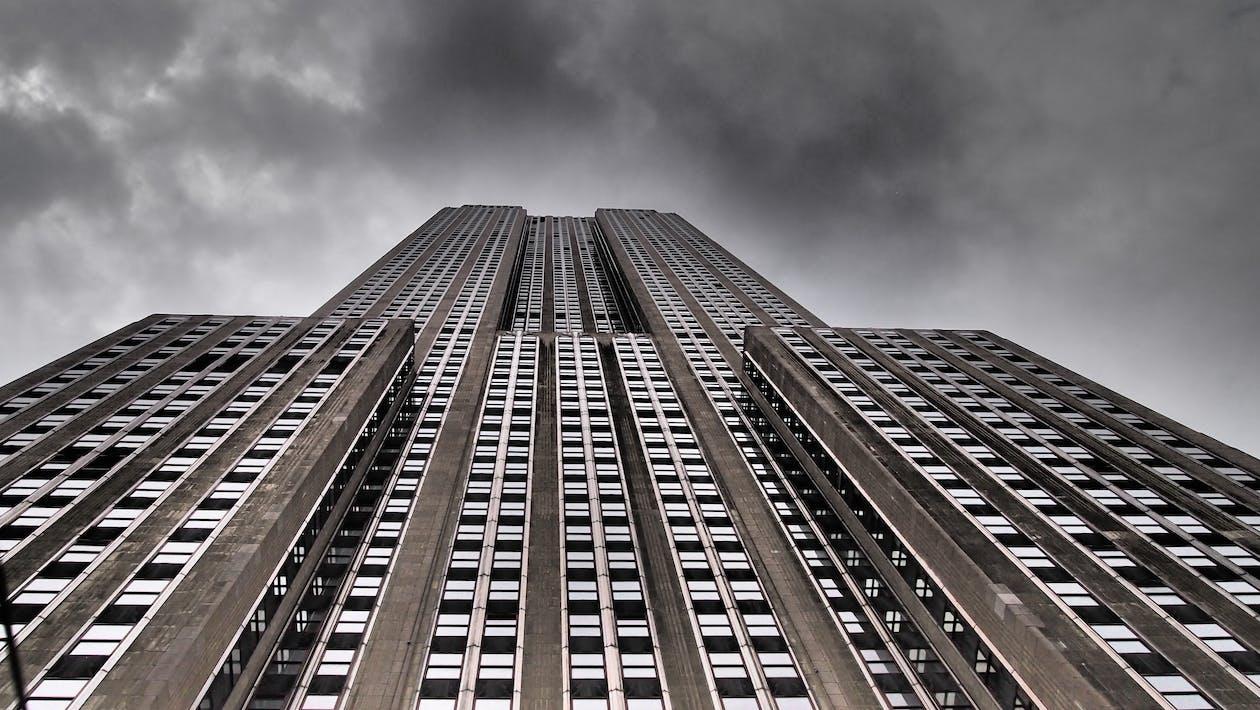 byggnad, Empire State Building, höghus