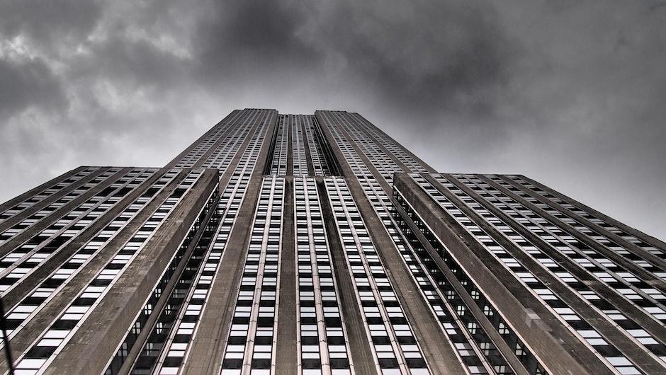 Gray and Silver Skyscraper