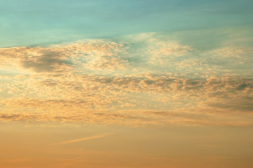 Free stock photo of beautiful, blue, clouds, gold