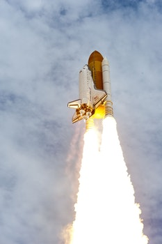 Free stock photo of flight, space, fire, launch