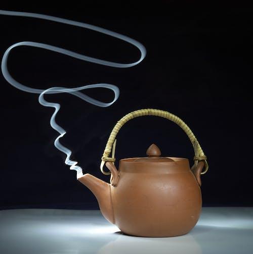 Imagine de stoc gratuită din abur, argilă, ceai, ceainic