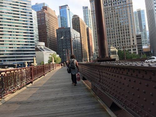 Free stock photo of bridge, chicago, cityscape, coronavirus