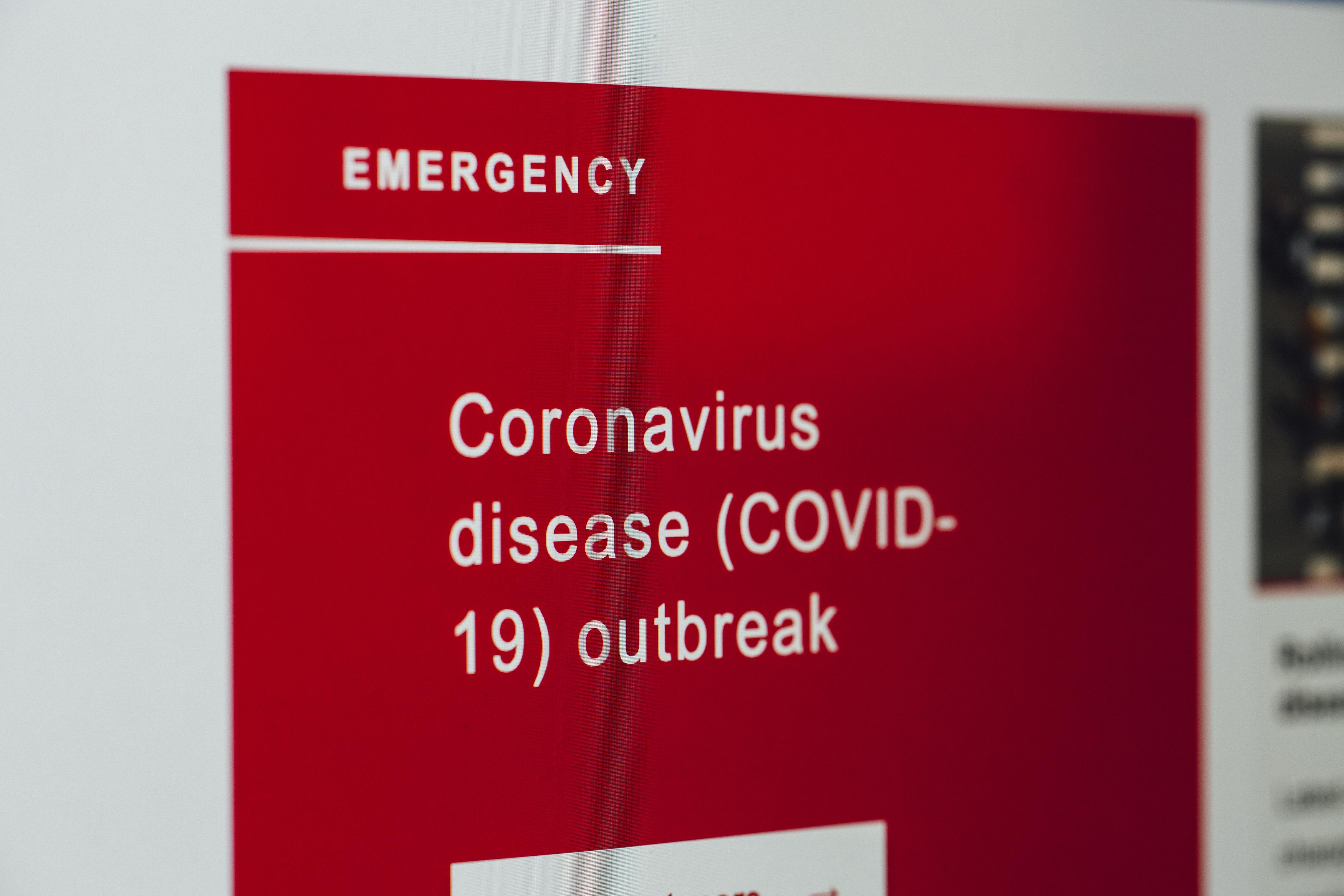 Coronavirus News on Screen - Hotcopy