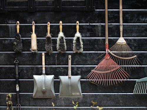 Immagine gratuita di appeso, attrezzature, attrezzi da giardino